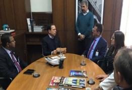 Em SP, vereadores de João Pessoa têm audiência com prefeito João Dória