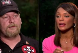 Supremacista branco ameaça queimar jornalista negra e latina em entrevista -VEJA VÍDEO