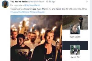 internautas 300x199 - Internautas antirracismo expõem na internet defensores da supremacia branca
