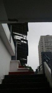 laranjeiras 5 167x300 - Ventania estraga telhado da sede do Fluminense