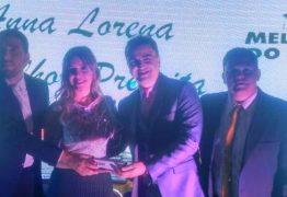 """Prefeita Anna Lorena recebe troféu em evento que homenageou """"Os Melhores do Cariri"""""""