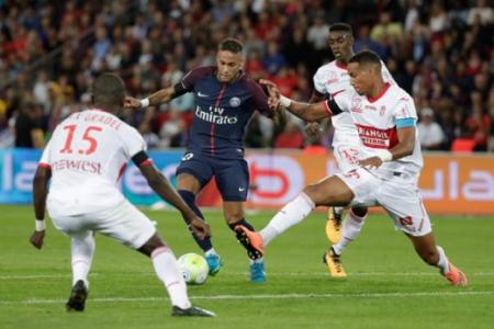 neymar toulouse - Neymar dá show e comanda goleada do PSG sobre o Toulouse