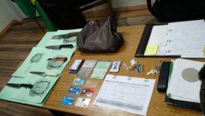 objetos recuperados Maria Vanessa latrocínio na 308 norte1 300x169 - Assassinos de servidora queriam trocar objetos roubados por drogas