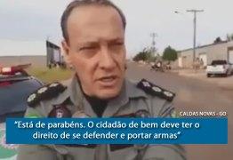 VEJA VÍDEOS: Comandante da PM elogia comerciante que matou 2 bandidos em Caldas Novas