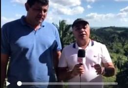 Prefeito de Serraria Petrônio de Freitas (PSD) adianta apoio a Romero Farias 'VOTARIA COM ORGULHO' -VEJA VÍDEO