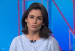 VEJA VÍDEO: Renata Vasconcellos fica com voz de robô após pane na Globo