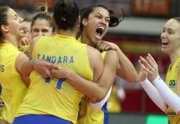 Brasil bate a Itália e conquista o 12º título do Grand Prix de vôlei