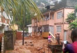 Deslizamento de terra deixa centenas de mortos em Serra Leoa