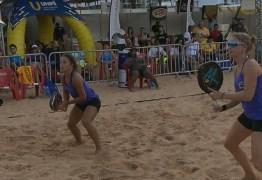João Pessoa sedia competição de tênis de areia