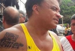 Deputado confirma que tatuagem com nome de Temer era de henna
