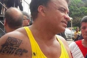 """wladimir costa tatuagem2 300x200 - BOMBA: Vaza vídeo íntimo de deputado federal com loira fazendo """"fio terra"""" nele"""