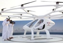 Dubai inicia testes em tentativa de se tornar primeira cidade com táxis drones