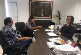 Zé Paulo foi recebido pela Secretária da Administração e pede celeridade nos pleitos feitos por servidores