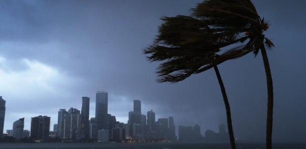 9set2017 tempestade do furacao irma se aproxima da costa da florida 1504965049723 615x300 - VEJA VÍDEO: Paraibanos registram chegada do furacão Irma que já causa chuva forte e ventania na Flórida