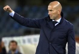 Recuperado da covid-19, Zidane volta a treinar o Real Madrid