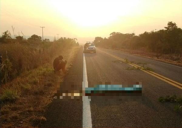 acidente 1 - Jovem morre atropelado após deitar em rodovia para descansar