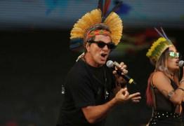 Público do Rock in Rio protesta contra o presidente Michel Temer
