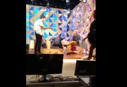 VEJA O VÍDEO: Briga de apresentadores do GNT viraliza na web