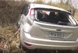 Filha de Tavinho Santos sofre acidente grave próximo a Campina Grande