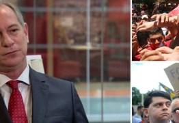 Ciro descarta aliança com PT e diz que muitos petistas preferem Bolsonaro