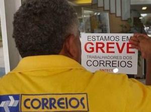 greve correios 300x223 - Correios decretam greve a partir da próxima segunda-feira
