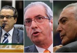 Temer, Cunha e Alves levaram R$250 milhões da Caixa, diz delação de Funaro