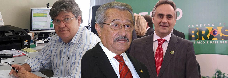 joao azevedo maranhao cartaxo - OPOSIÇÃO COM DOIS CANDIDATOS: Zé Maranhão, 84 anos, é candidatíssimo também em 2018! - Por Rui Galdino