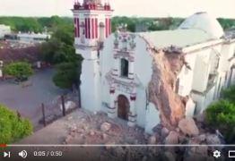 Turista mineiro registra pós-terremoto com drone no México: 'Vontade de chorar' – VEJA VÍDEO