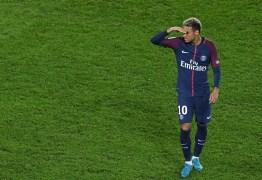 Neymar não se recupera de problema na coxa e desfalca PSG