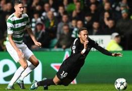 'Se Neymar quer chegar ao nível do Messi, deve deixar de fazer teatro', diz defensor do Celtic