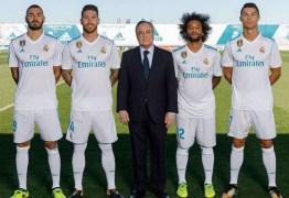 Real Madrid passa a ter o maior patrocínio de camisa do mundo