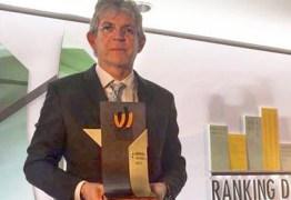 Ricardo Coutinho recebe Prêmio de Excelência em Competitividade em São Paulo