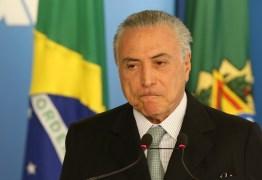 Ministro do STF dá 15 dias para PGR decidir se denuncia Michel Temer