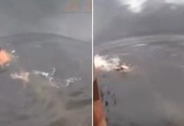VEJA VÍDEO: Líder espiritual que dizia ter poder sobre crocodilos acaba sendo atacado por um