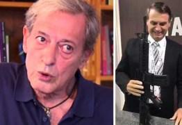 "Colunista ironiza Bolsonaro: ""Minha Pistola, Minha Vida"""