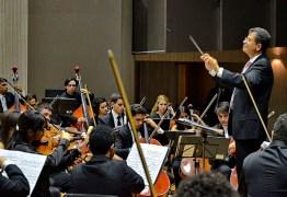 Orquestra Sinfônica Jovem da PB se apresenta nesta quinta com regência de maestro de PE