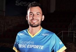 Paraibano é o melhor levantador da rodada da Superliga de Vôlei