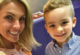 Filho da apresentadora Ana Hickmann é xingado na internet