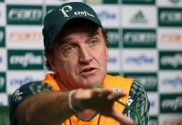 Cuca mantém ambição do Palmeiras pelo título: 'Não jogamos a toalha'