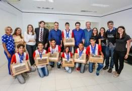 Cartaxo recebe visita dos estudantes que irão competir na olimpíada de robótica