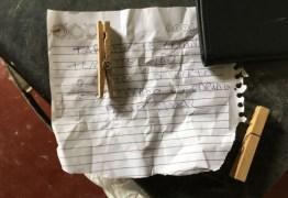 Criminosos deixam bilhete ao lado de homem assassinado: 'Tarado de criança tem vez não'