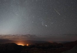 COMETA HALLEY: Madrugada do fim de semana terá chuva de meteoros