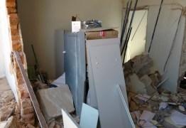 VEJA VÍDEO: Bandidos explodem agência bancária em  Condado e até prédio fica danificado