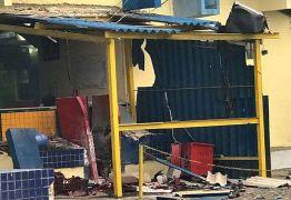 Bandidos explodem caixa-eletrônico em CG e roubam cofre dos Correios de Lagoa Seca