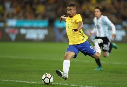 """Gabriel Jesus mostra confiança com a seleção: """"Copa podia começar amanhã"""""""