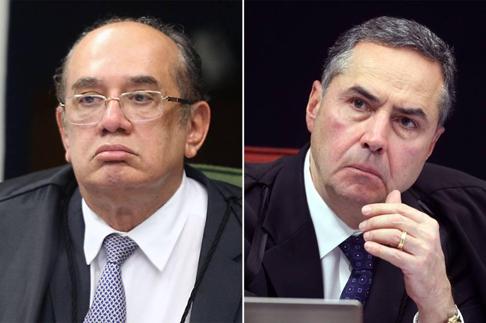 mendes barroso - VEJA VÍDEO: Gilmar Mendes e Barroso se estranham durante julgamento do STF e bombam nas redes sociais