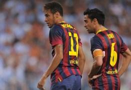 """""""Neymar não estava feliz no Barça"""", diz Xavi"""