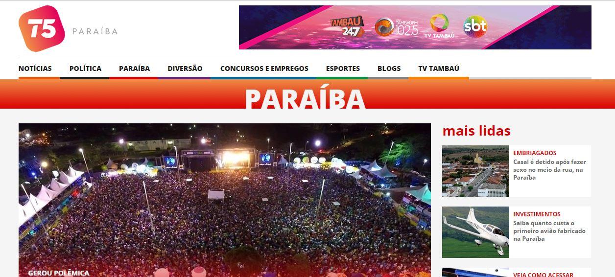 portalt5 - FIM DO TAMBAÚ247: Agora Sistema Tambaú tem o Portal T5
