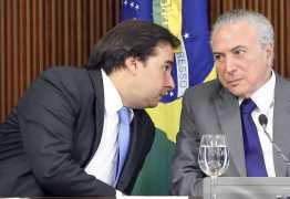 Temer quer fazer pacto com Maia para garantir aprovação das reformas