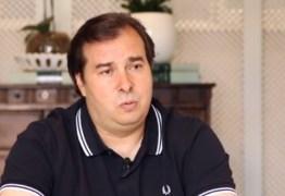 Rodrigo Maia afirma que projetos econômicos do Governo Federal são um desrespeito com a Câmara